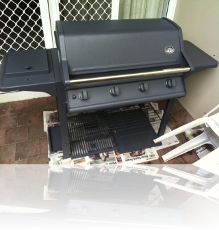 During 2/2 - Repurposed gas BBQ